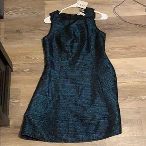 Blue sparkley designer dress!